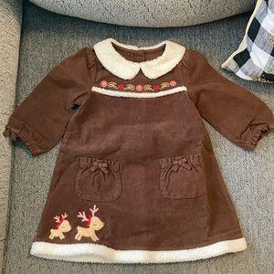 🎉Host Pick🎉 Gymboree Sherpa Reindeer Dress